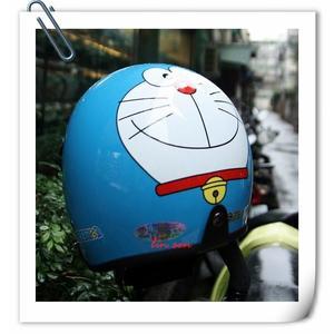哆啦A夢復古帽,小叮噹安全帽,803,805,哆#2/藍