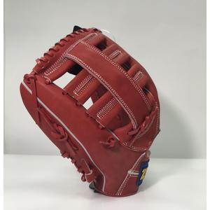 「野球魂中壢店」--「ZETT」【8900】系列牛皮棒球壘球手套(內野手&外野手,BPGT-8927,紅色)反手