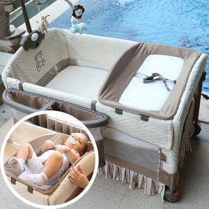 嬰兒床專用搖桿尿布台可變搖床多功能尿布台 YDL