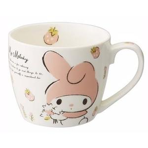 Sanrio三麗鷗 My Melody美樂蒂 草莓造型 馬克杯/水杯/陶瓷湯杯/玻璃杯*尋夢園