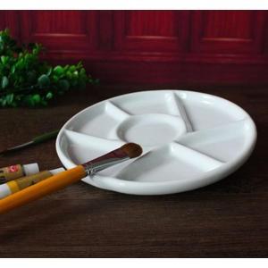 陶瓷調色盤美術專業水彩水粉油畫國畫丙烯顏料盤調色碟 伊衫風尚