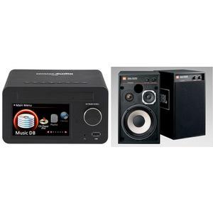 經典數位~最佳數位流選擇JBL 4312M II監聽級書架型喇叭cocktail X12強悍數位播放機組 公司貨