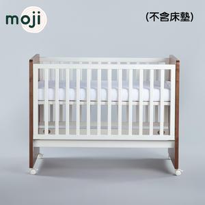 德國 Moji Dreamy 成長型原木嬰兒床-琥珀棕【不含床墊】