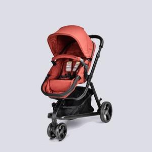 英國 unilove AZRAA 跨界多功嬰兒推車-紅色贈CABRIOFIX提籃