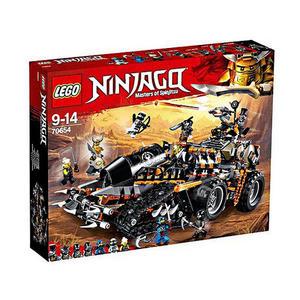 樂高積木 LEGO《 LT70654 》2018 年 Ninjago 旋風忍者 - 獵龍戰車 ╭★ JOYBUS玩具百貨