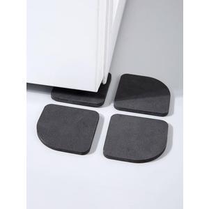 滾筒洗衣機減震防滑墊傢俱防震隔音墊家用冰箱沙發靜音腳墊 為愛居家