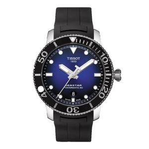 TISSOT 天梭表海洋之星潛水機械腕錶( T1204071704100 )漸層藍/43mm