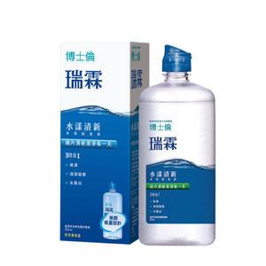 專品藥局 博士倫 瑞霖水漾清新多效保養液 355ml(隱形眼鏡藥水)【2003651】