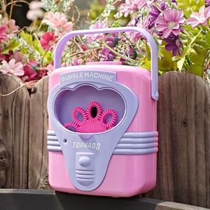 抖音同款手提泡泡機全自動兒童吹泡泡寶寶浴室洗澡神器電動玩具槍 MKS99一件免運
