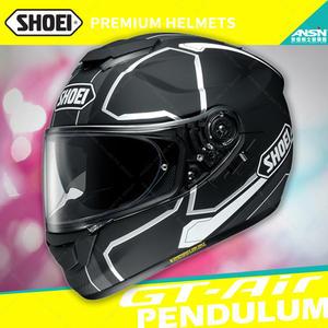 [中壢安信]日本 SHOEI GT-Air 彩繪PENDULUM TC-5 消光白黑 全罩 安全帽 內墨鏡