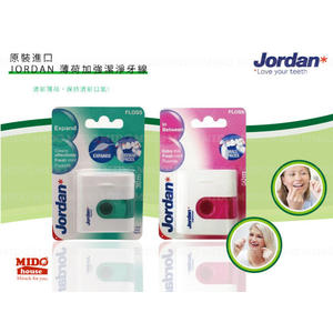 Jordan 薄荷加強潔淨牙線《Midohouse》