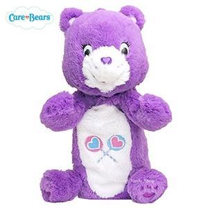 日本限定 Care Bears 彩虹熊 玩偶 筆袋 (紫色)