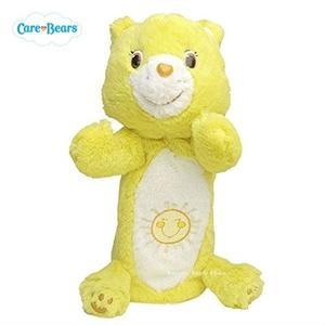 日本限定 Care Bears 彩虹熊 筆袋 收納袋 (黃)