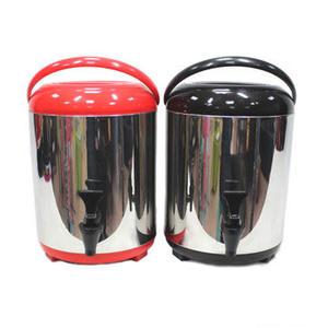日式手提保溫桶 10公升 雄獅 茶桶 冰桶 保溫桶 啤酒桶 CK-519[百貨通]
