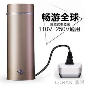 電熱杯電熱水杯小型便攜出國旅行電熱水壺迷你小容量保溫加熱燒水 NMS