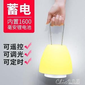 led應急燈可充電式停電備用家用檯燈行動照明多功能電燈必備神器