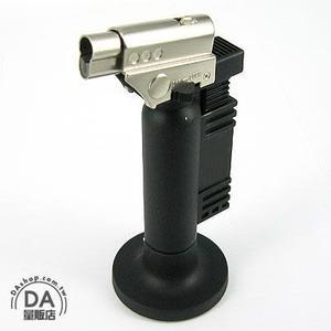 直立式 噴槍式 防風 噴射 打火機 點火器 可充瓦斯 重複使用(37-460)