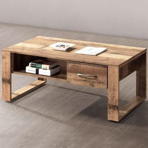 茶几《YoStyle》森佐木4尺茶几 矮桌 接待桌 簡約 棧板風 專人配送