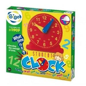 【智高 Gigo】 教學小時鐘 #1190P←益智玩具 你高OK 樂高積木 學校教具