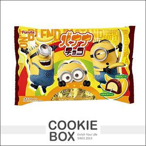 日本 FURUTA 古田 小小兵 黃色軍團 香蕉風味巧克力 神偷奶爸 165.6g食 *餅乾盒子*