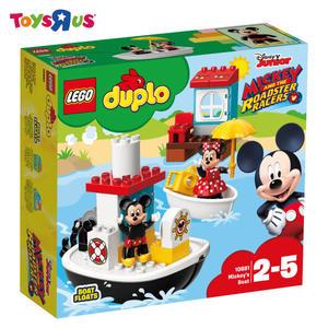玩具反斗城  樂高 LEGO   DUPLO 10881 Mickey's Boat
