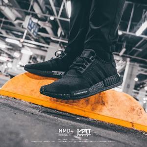IMPACT Adidas NMD R1 Japan Black 全黑 日文 男鞋 BD7754