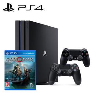 【PS4 組合】PRO 主機 + PS4 戰神 + 原廠無線手把