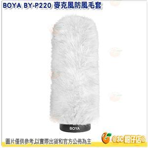 @3C 柑仔店@ BOYA BY-P220 麥克風防風毛套 防風罩 收音 抗噪 內置長度220mm