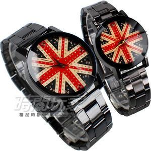 kevin 情人對錶 英國風尚 IP黑電鍍 對錶 美式休閒風格 學院風 學生錶 KEV2068英倫大+KEV2068英倫小