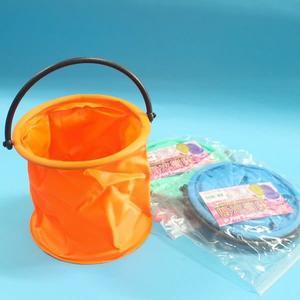 雷鳥 水桶 LT-012 可折式伸縮手提水桶 【一箱12個入】{定55} 筆洗 水彩桶 水袋