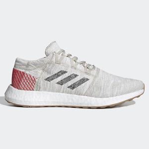 Adidas PUREBOOST GO 男鞋 慢跑 休閒 透氣 輕量 米白【運動世界】 B37805