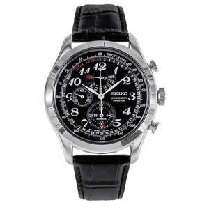 日本精工SEIKO手錶 Neo Classic 系列 三眼皮帶男錶 SPC133 男錶 石英錶   原廠保固兩年