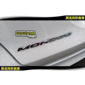 莫名其妙倉庫【DP001 新款車標】原廠 字標 名牌 銘排 Ford 福特 new mondeo 2015 MK5
