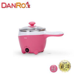 【DANRO丹露】1.8L多功能握把式快煮鍋MS-D17-粉色《刷卡分期+免運》