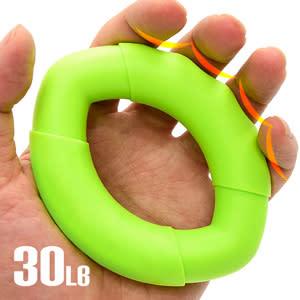 橢圓工學30LB握力圈.矽膠握力器握力環.指壓按摩握力球.硅膠筋膜球.訓練手指力手腕力抓力手力
