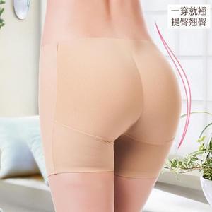 假臀部假屁提臀內褲女超薄款翹臀提臀褲豐臀神器女士平角內褲加墊 小宅女