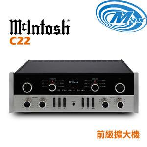 《麥士音響》 McIntosh 前級擴大機 C22