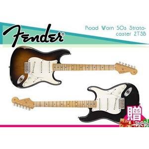 【小麥老師 樂器館】Fender road worn '50s Stratocaster 電吉他 墨西哥廠 舊化處理