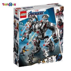 LEGO樂高 復仇者聯盟 系列 76124 War Machine Buster 積木 玩具