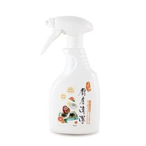 【木醋液達人】天然木酢廚房清潔噴霧350ml 快速清潔除油好幫手!