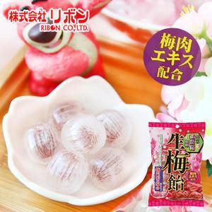 日本 RIBON 南高梅 生梅飴 110g 生梅糖 生梅飴 梅子糖 紀州南高梅 糖果 零食
