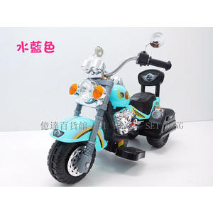 億達百貨20638超帥氣哈雷機車/仿真哈雷兒童電動車兒童摩托車帶後靠背電動摩托車特價