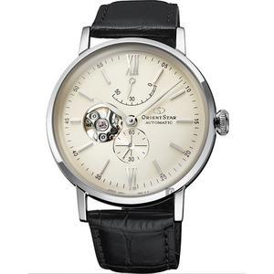 ORIENT STAR 東方之星 OPEN HEART系列機械錶-銀x黑/40mm RE-AV0002S