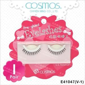 COSMOS自黏假睫毛(V-1)-單對E41047(不需要另塗膠水) [79992]