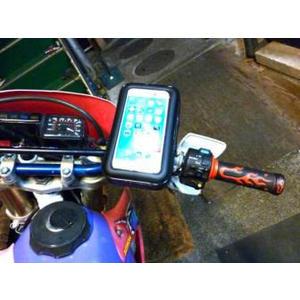 iphone7 iphone6 plus New Fighter 6手機車防水包支架保護套勁風光摩托車導航機車架手機座
