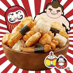 豆之家-翠果子 相撲米果(植物五辛素)(375g)