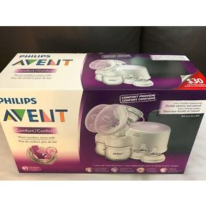 【WowLook】保26個月 SCF334/22 Philips Avent 飛利浦新安怡雙邊電動擠奶吸乳器 親乳感