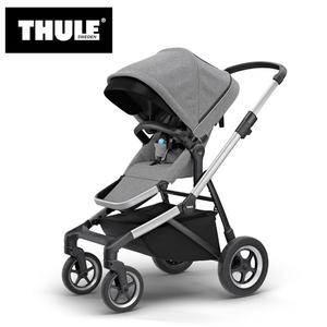 【愛吾兒】瑞典 THULE Thule Sleek推車 混紡灰