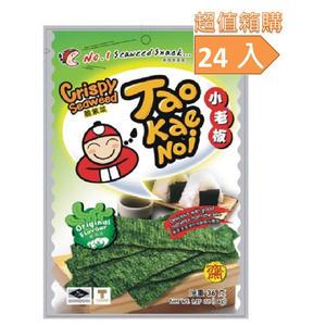 小老板厚片海苔-原味(24包/箱)-箱購