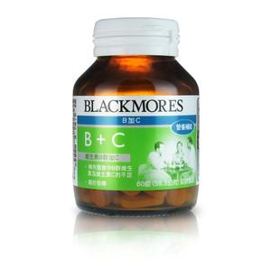 Blackmores澳佳寶 B+C 60粒【躍獅】